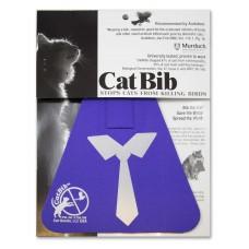 Purrple Tie Regular Bib