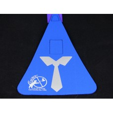 Royal Blue Tie Regular Bib