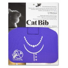 Purrple Necklace Big Bib